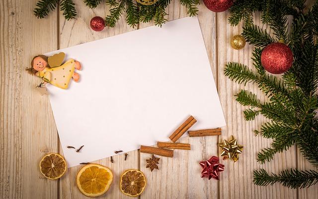 vánoční vzkaz