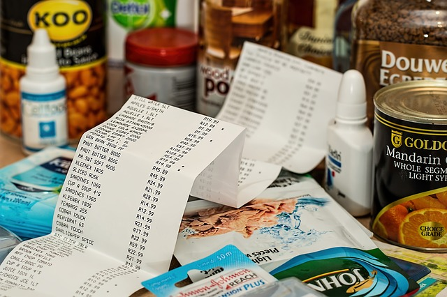 účet za nákup
